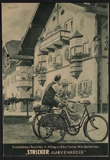 Stricker-Markenräder Katalog 1951