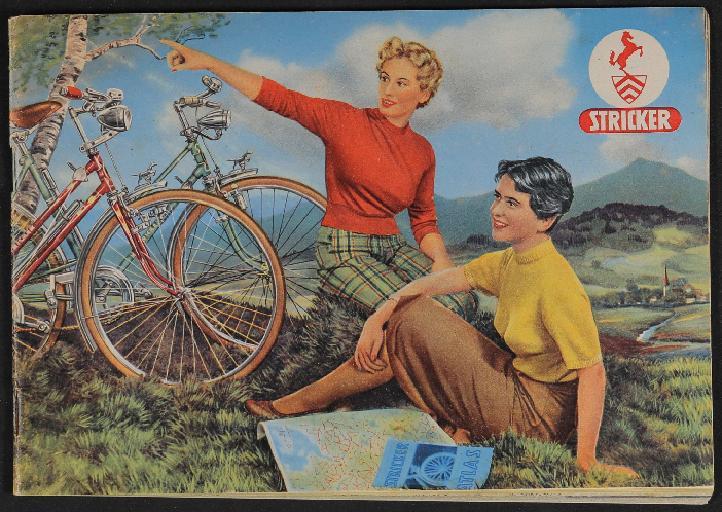 Stricker-Markenräder Katalog 1954