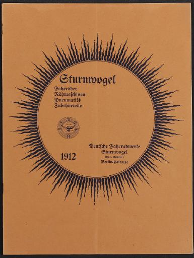 Sturmvogel, Katalog, 1912