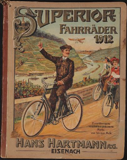 Superior Fahrräder Katalog 1912