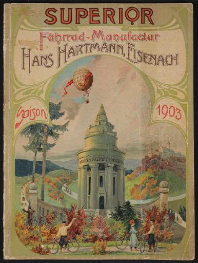 Superior Fahrrad-Manufaktur Katalog 1903