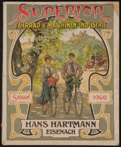 Superior Fahrrad-u Maschinen-Industrie Katalog 1906