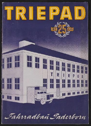 Triepad Fahrradbau Katalog 1952