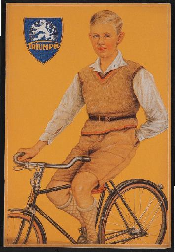 Triumph Fahrräder Katalog 1930er Jahre