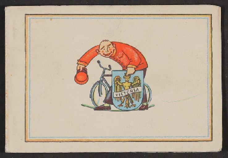 Victoria, Postkartenheft 1910er Jahre