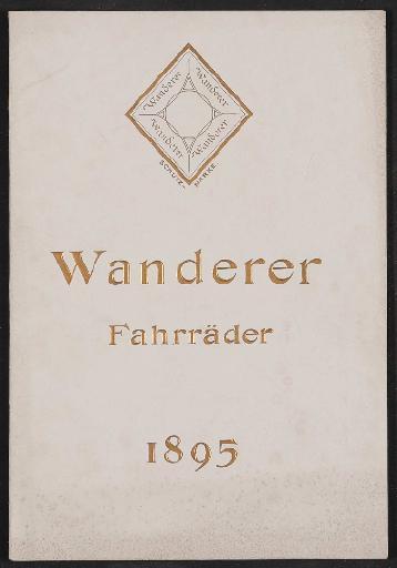 Wanderer, Katalog 1895