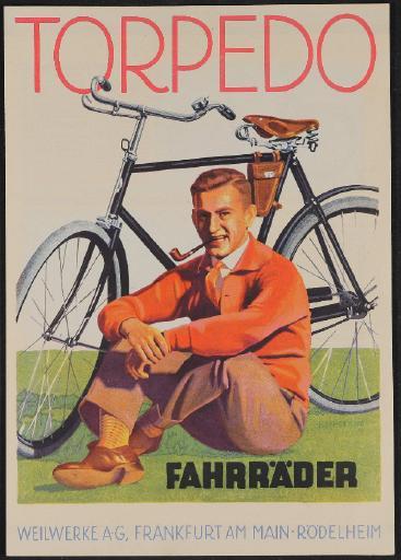 Torpedo Fahrräder Prospekt 1927