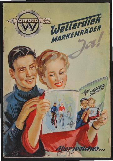 Wellerdiek Markenräder, Katalog, 1953