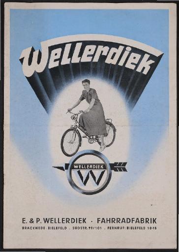 Wellerdiek Prospekt 1952