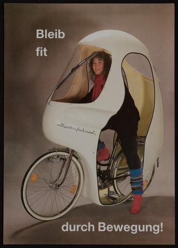Allwetter Fahrradverkleidung ca. 1980