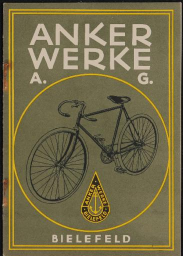 Anker Werke Kat. ca. 1918