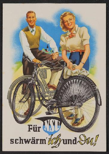 NSU Faltblatt 1930er Jahre