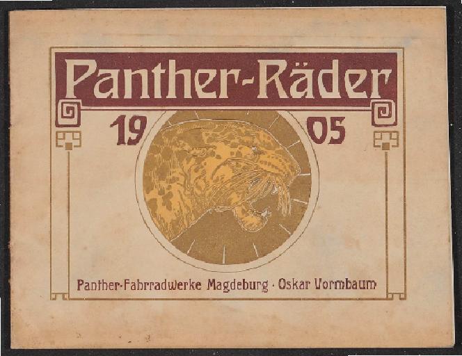 Panther Räder Katalog 1905