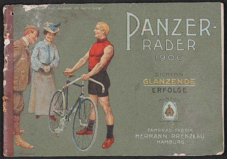 Panzer Räder Katalog 1906