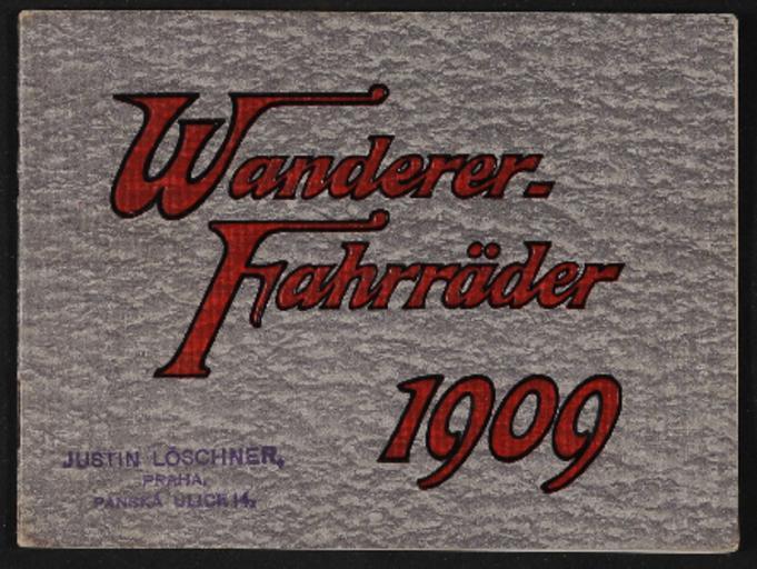 Wanderer Fahrräder Katalog 1909