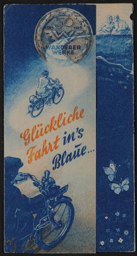 Wanderer Faltblatt 1935